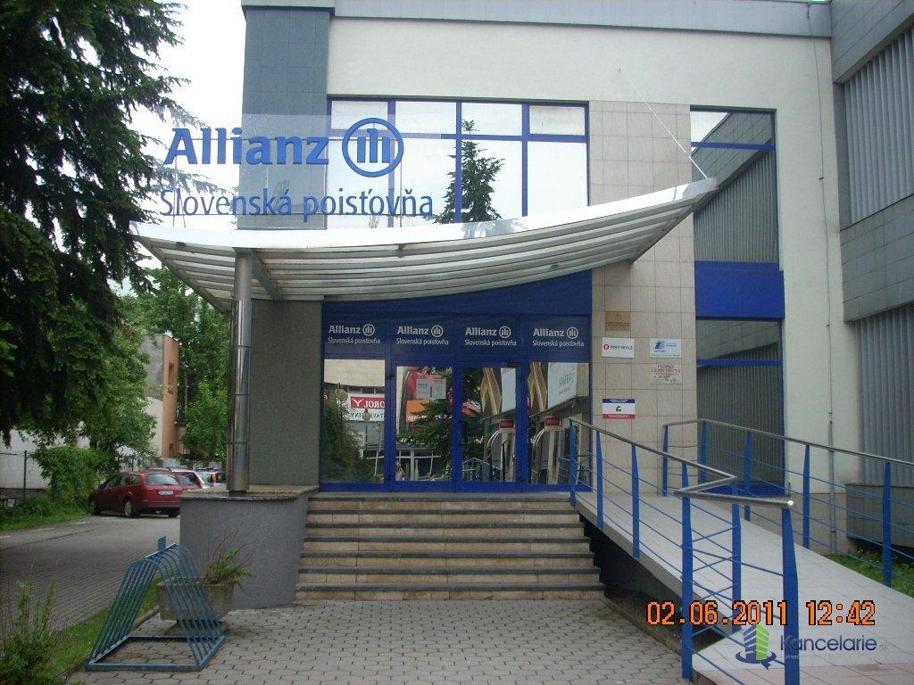 Allianz - Slovenská poisťovňa, a.s., Voľné kancelárie  prízemie Lipt.Mikuláš, Štúrova 17, Liptovský Mikuláš