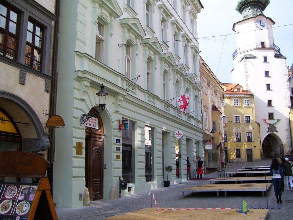 Michalská, Kancelárske priestory- 175,58 m?, Michalská 9, Bratislava