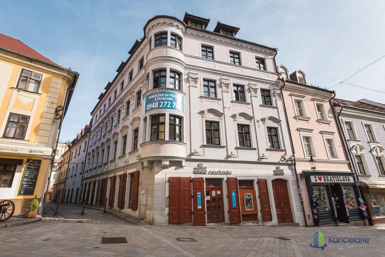 Administratívna budova Michalská, Kancelárske priestory 4. podlažie, Michalská 18, Bratislava