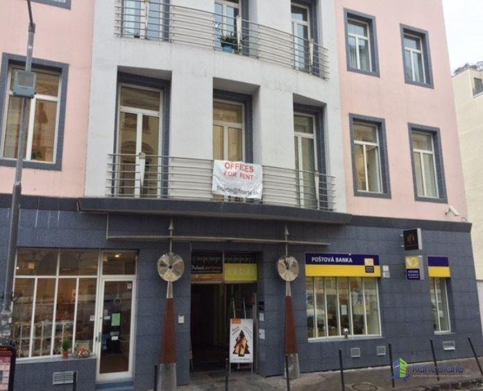 Kancelárske priestory, kancelárske priestory - 60,89m2, Gorkého 3, Bratislava