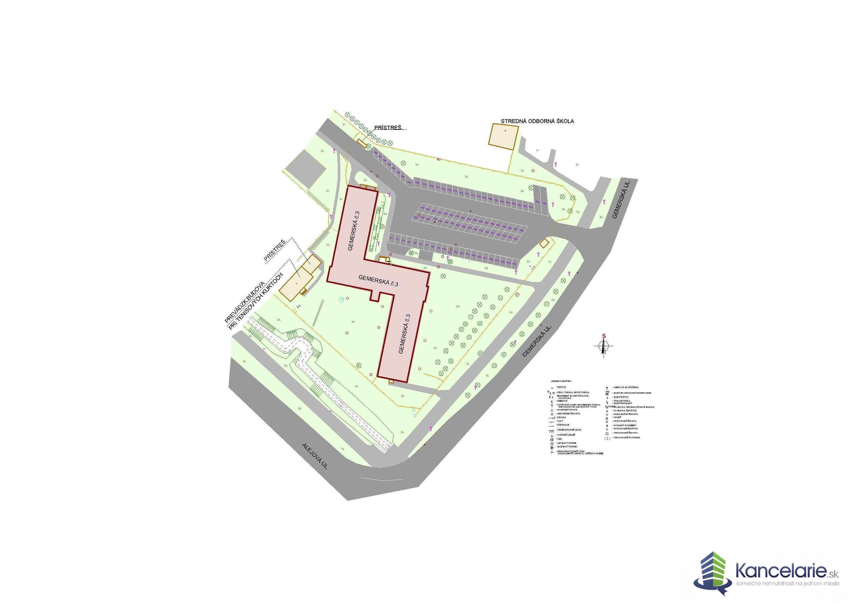 PODNIKATEĽSKÉ CENTRUM, Kancelárske priestory, Gemerská 3, Košice