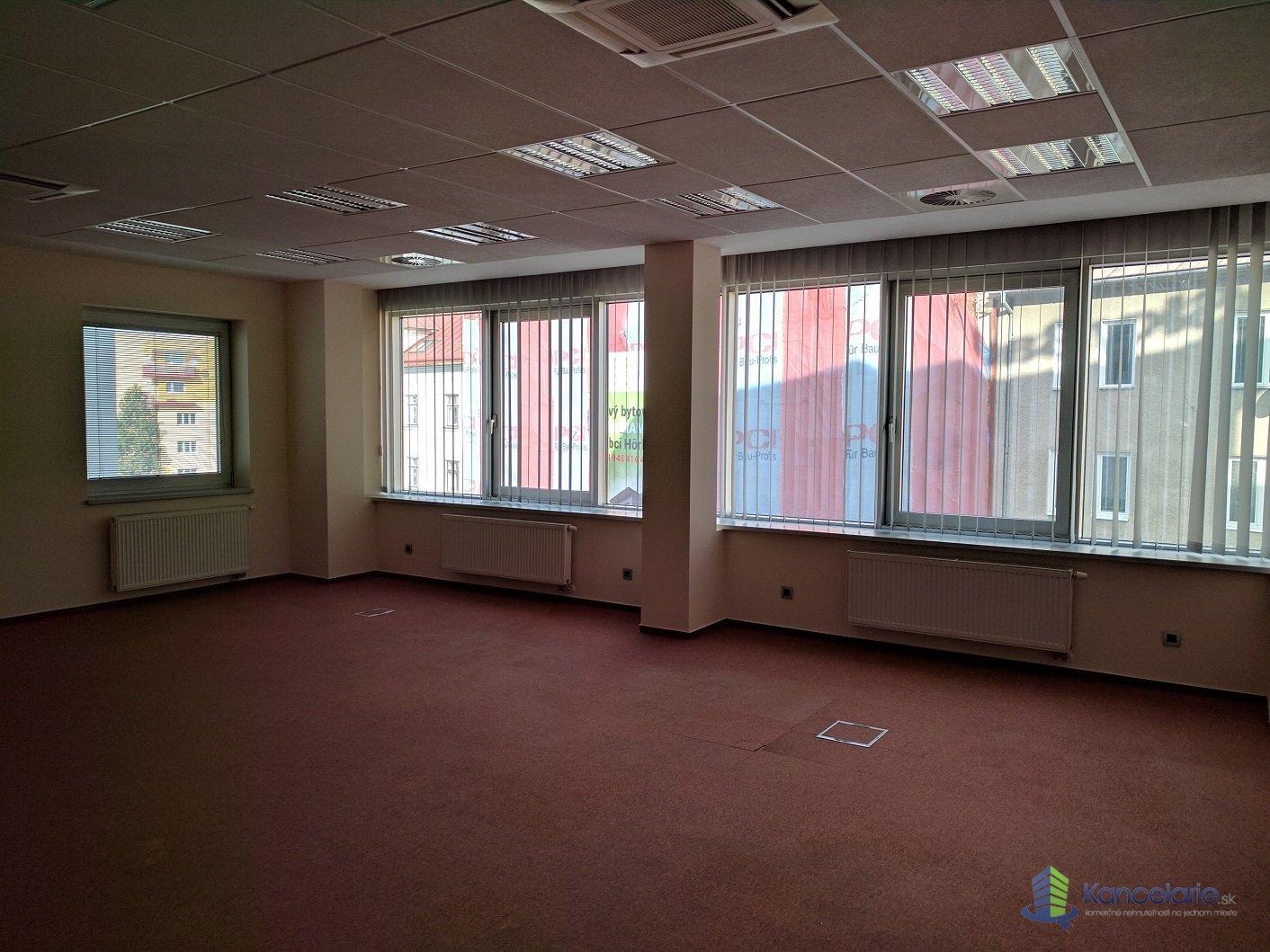 Administratívna budova, 2. poschodie kancelária -2.22a (62,30m2), Veľká Okružná 26A, Žilina
