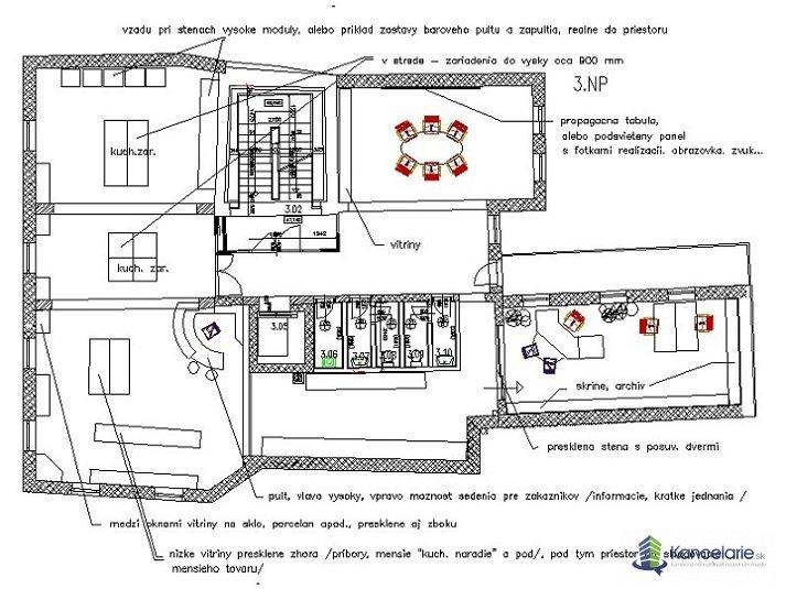 Hušťák, 2. a 3. poschodie, Vajanskeho nam.12 12, Banská Bystrica