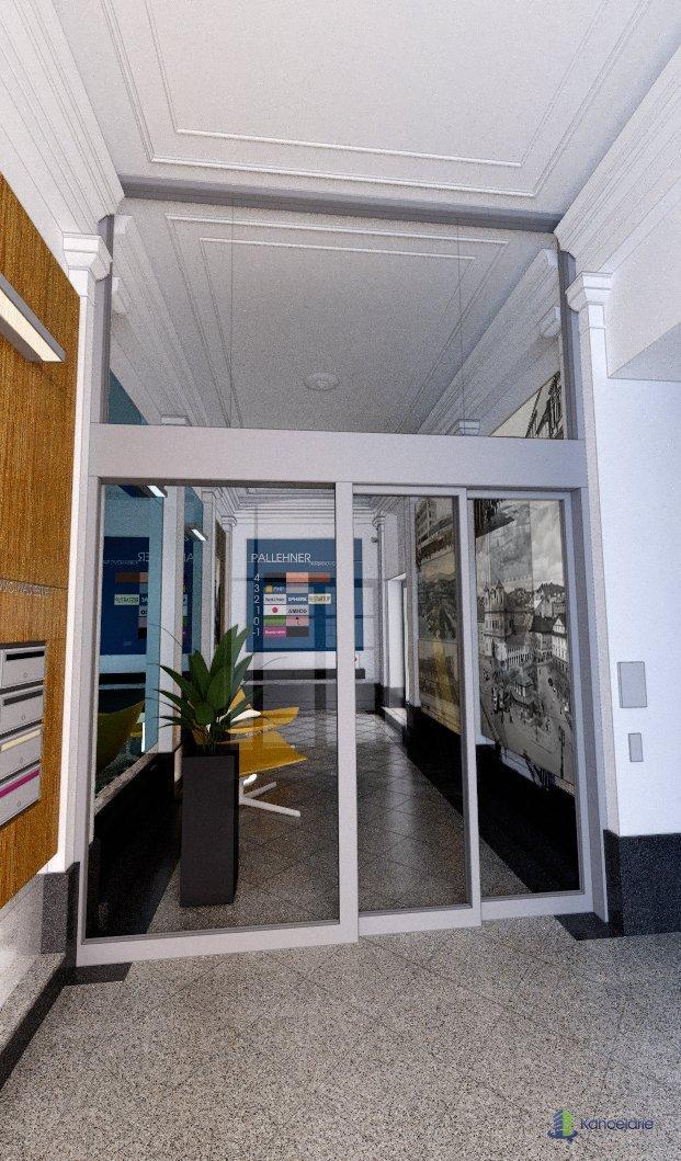 Pallehner, Kancelárske a obchodné priestory, Hurbanovo námestie 1, Bratislava